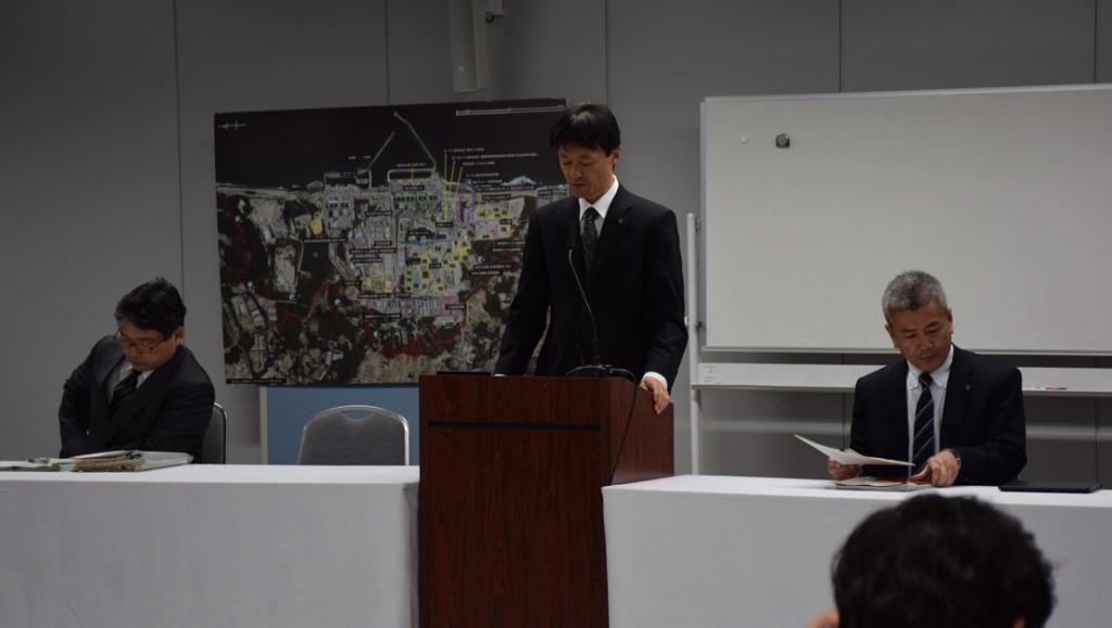2015年1月19日東京電力定例会見
