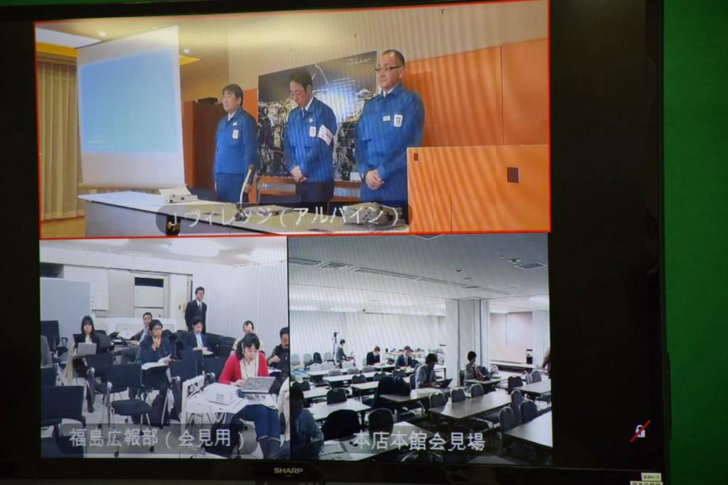 2014年12月25日東京電力記者会見福島記者室