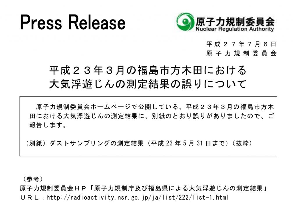 関連サイト http://radioactivity.nsr.go.jp/ja/list/222/list-1.html