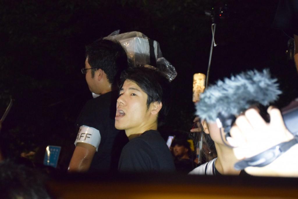 2015年9月19日(撮影:おしどりマコ)