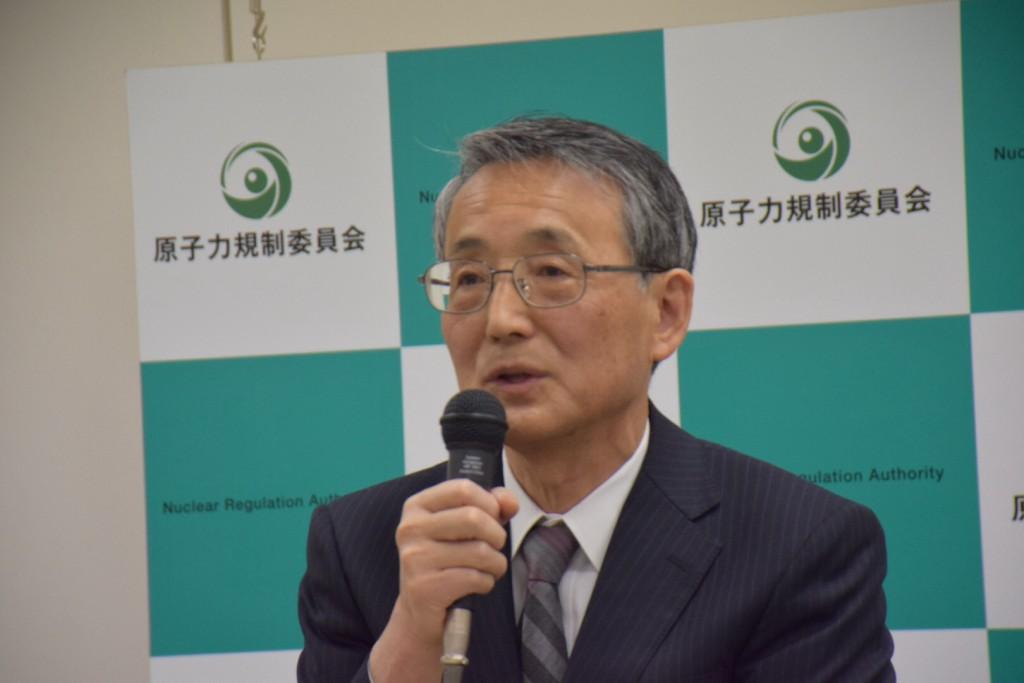 田中俊一・原子力規制委員長 撮影(おしどりケン)