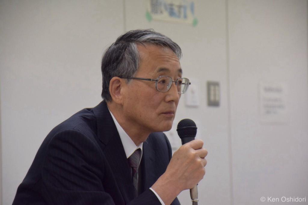 田中俊一原子力規制委員長(撮影 おしどりケン)