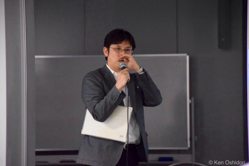 「いったん始めてしまったので」と回答する東京電力・宍倉氏